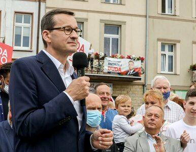 """Morawiecki krytykuje rządy Trzaskowskiego w Warszawie. """"Prąd od Niemców,..."""