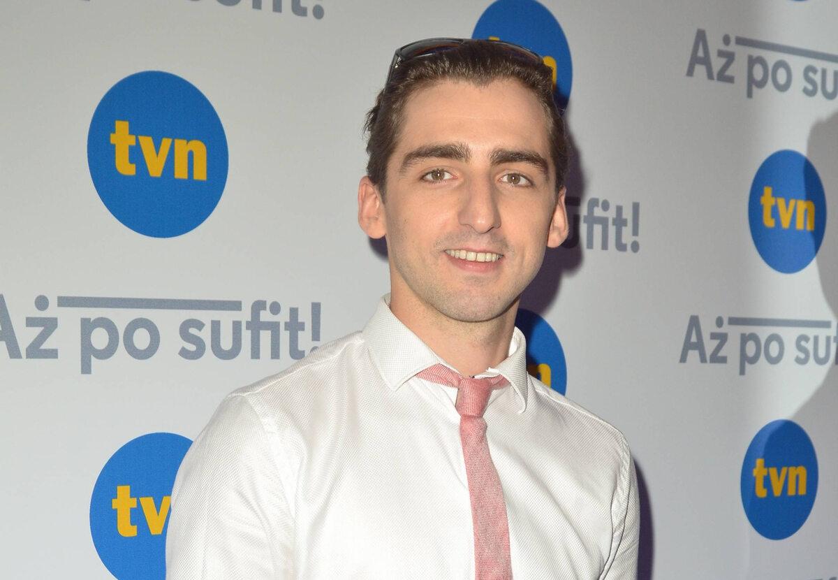 Piotr Żurawski Aktor, który gra w serialu Daniela Passenta.