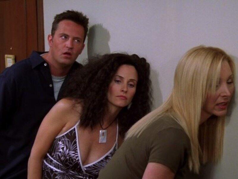 """Courteney Cox w serialu """"Przyjaciele"""""""