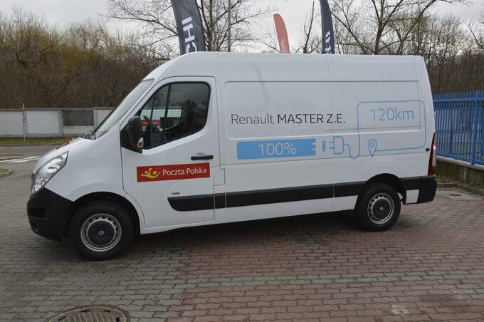 Poczta Polska _ testy aut elektrycznych o ładowności do 800 kg (4)