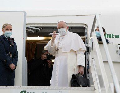 """Historyczna pielgrzymka papieża Franciszka do Iraku. """"Obowiązek wobec..."""