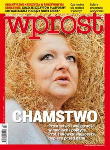 Okładka tygodnika Wprost nr 22/2013 (1579)