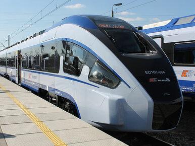 Ewakuowano pociąg Intercity w Nowym Dworze Mazowieckim. Pasażer...