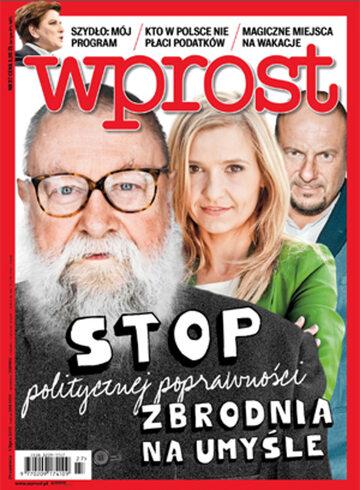 Okładka tygodnika Wprost nr 27/2015 (1686)