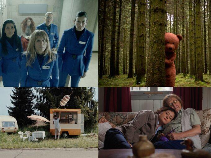 "kadry zfilmów ""Hounds"", ""Black Bear"", ""Spoetnik"", ""Las cosas simples"""