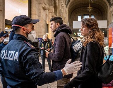 Koronawirus we Włoszech. Lawinowy wzrost liczby ofiar śmiertelnych i...