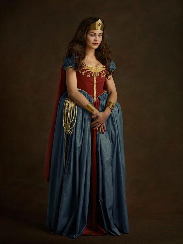 Wonder Woman, Fot. Sacha Goldberger / Facebook