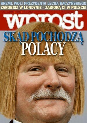 Okładka tygodnika Wprost nr 9/2006 (1212)