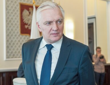 Gowin o doniesieniach o Polexicie: Polskę z UE wyprowadza się tylko w...
