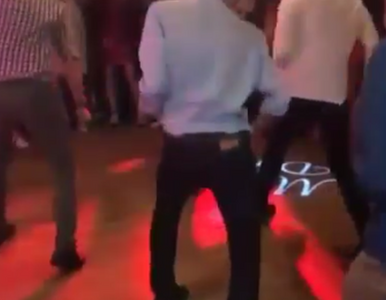 Nagrali taniec Stocha na weselu Kubackiego. Film robi furorę