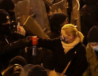 Barbara Nowacka zaatakowana gazem przez policjanta. Składa zażalenie na...