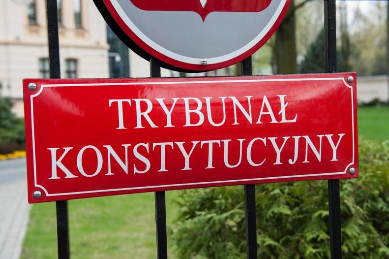 """Protest przed Trybunałem Konstytucyjnym. """"Tusk zdrajcą"""""""