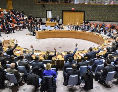 USA zawetowały rezolucję Rady Bezpieczeństwa ONZ. Jak zagłosowała Polska?