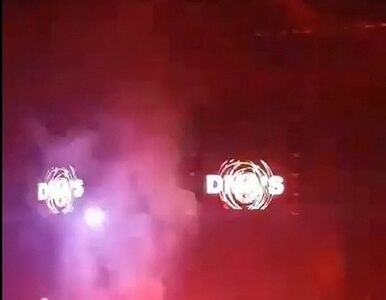 Fanka zaczęła płonąć na koncercie Liama Gallaghera. Ktoś trafił w nią flarą