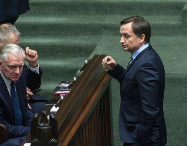 Ziobro nie zagłosuje z koalicjantami. Gowin: Będziemy liczyć na głosy...