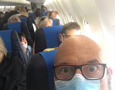 """Gąsowski opisał kuriozalne procedury w samolocie. """"Bareja by się nie..."""
