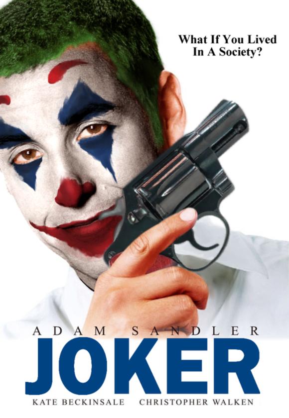 Adam Sandler w roli Jokera? Gdzie trzeba podpisać? xD