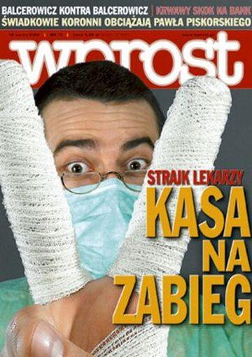 Okładka tygodnika Wprost nr 11/2006 (1214)