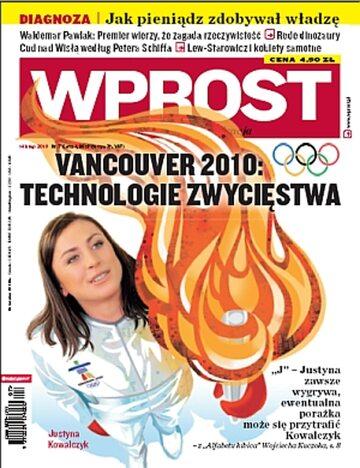 Okładka tygodnika Wprost nr 7/2010 (1411)