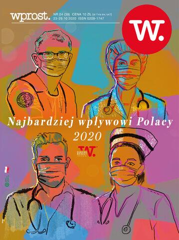 Okładka tygodnika Wprost nr 39/2020 (1955)