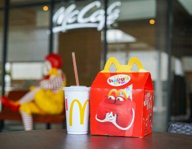 Koniec plastiku w Happy Mealach w McDonald's. Zdecydowała ekologia