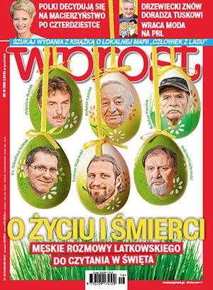 Okładka tygodnika Wprost nr 16/2014 (1624)
