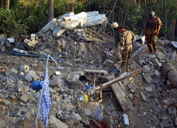 Pozostałości pokryjówce Zarkawiego zniszczonej przez Amerykanów