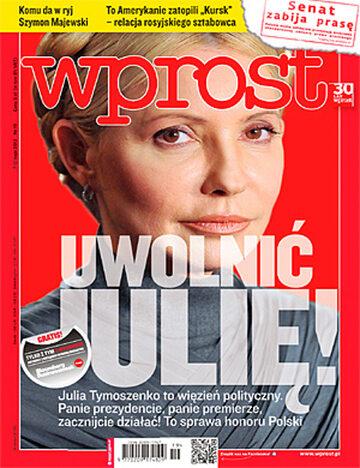 Okładka tygodnika Wprost nr 19/2012 (1525)