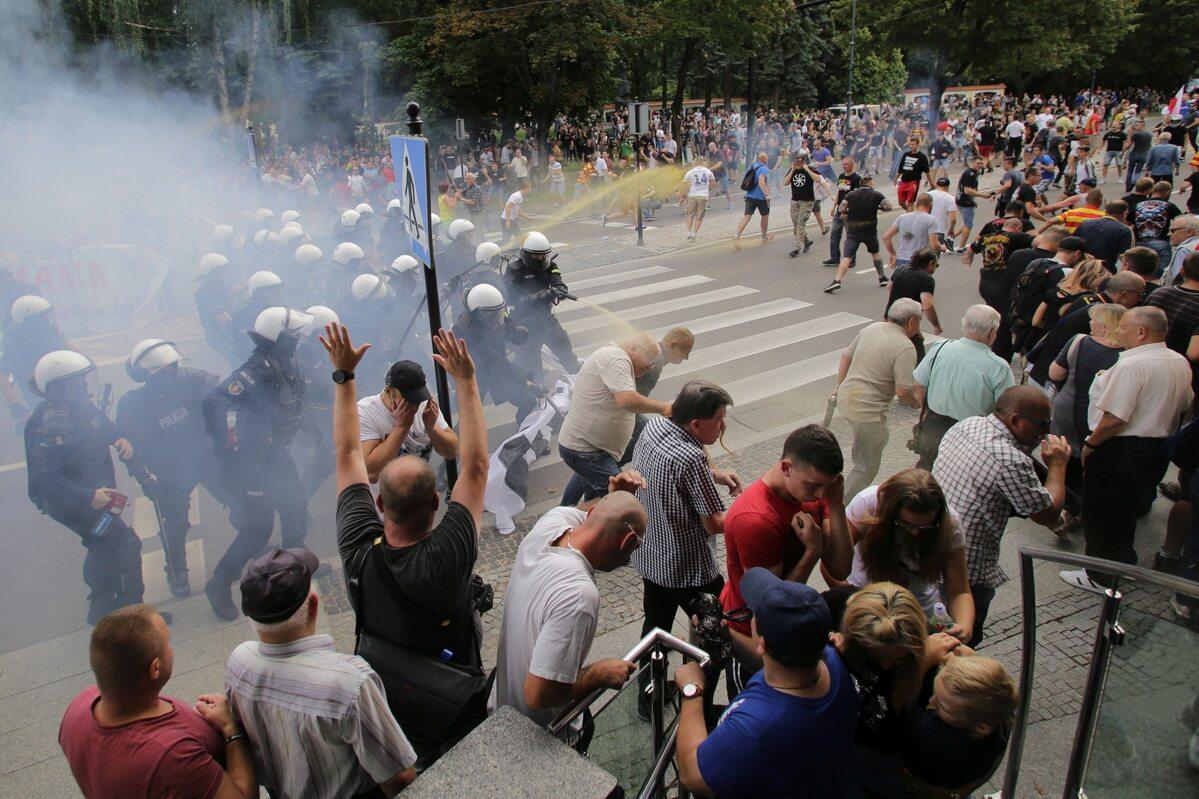 Zamieszki podczas Marszu Równości w Białymstoku