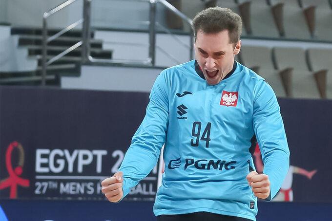 Mecz Polska-Brazylia, mistrzostwa świata wpiłce ręcznej wEgipcie