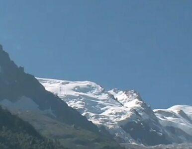 Mont Blanc: lawina porwała trzy osoby - dwie nie żyją