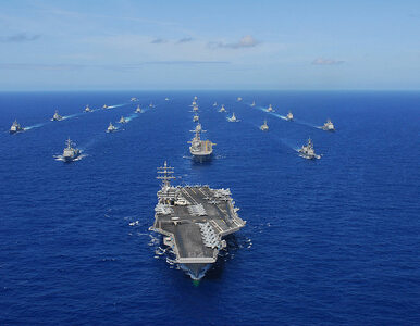 Największe manewry sił morskich. Chiny i USA pierwsz raz razem