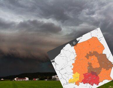 Ostrzeżenia IMGW dla 14 województw przed burzami z gradem