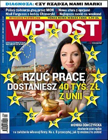 Okładka tygodnika Wprost nr 34/35/2009 (1388)