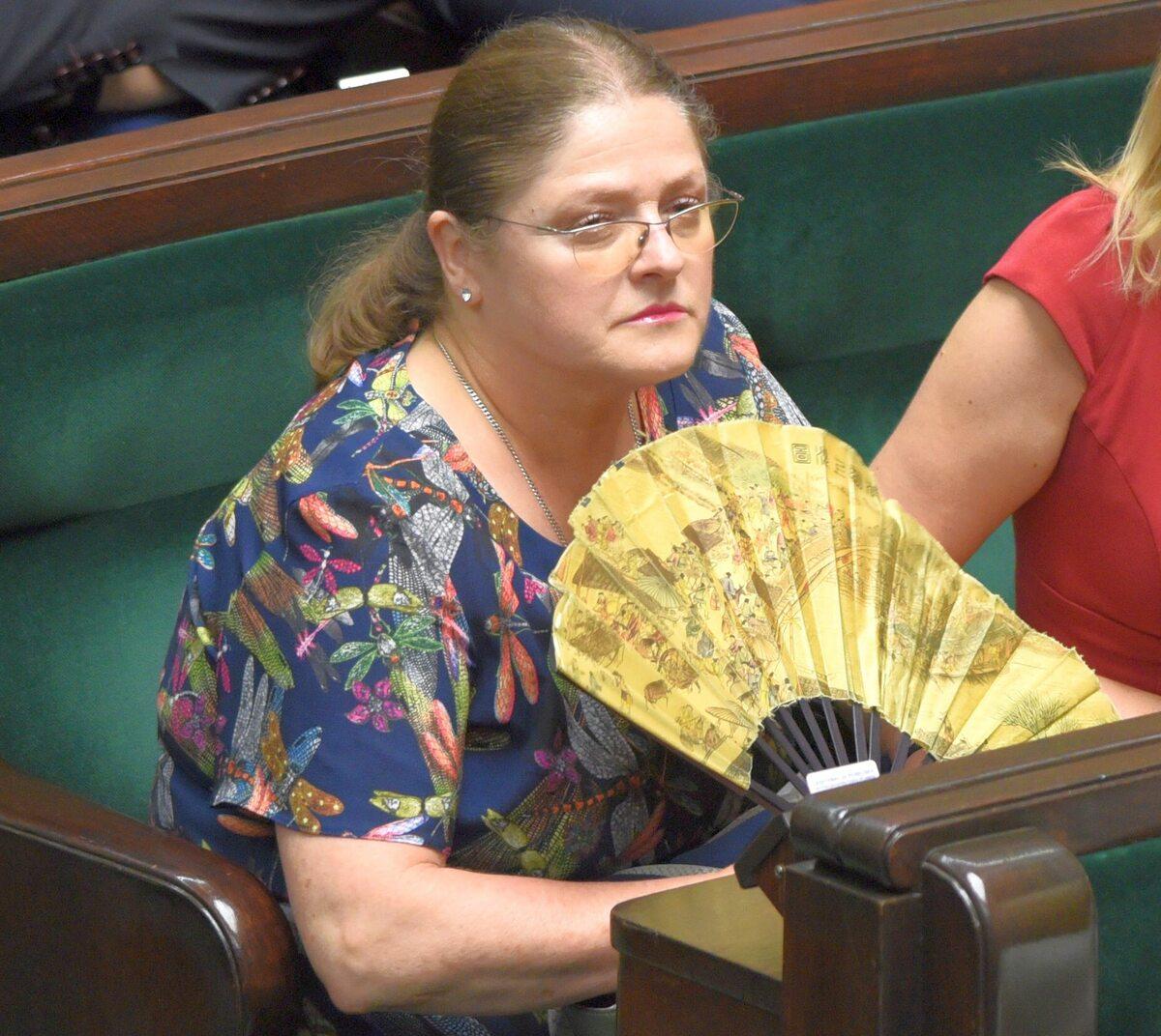 Krystyna Pawłowicz, posłanka PiS
