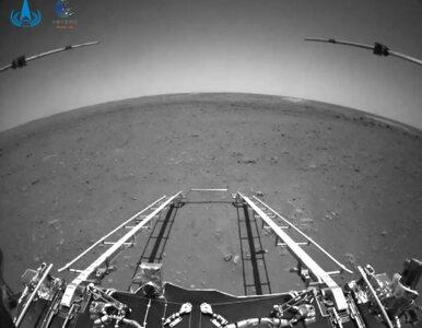 Chiński łazik już jeździ po powierzchni Marsa. Dołączył do Perseverance...