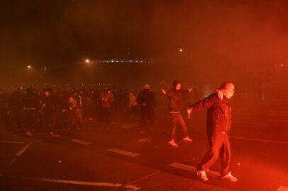 Zamieszki w Warszawie