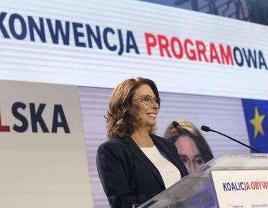 Politycy i dziennikarze komentują konwencję Koalicji Obywatelskiej....