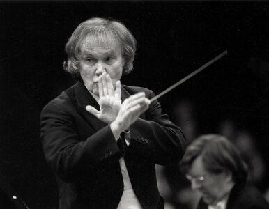 Zmarł Kazimierz Kord, przez lata dyrektor Filharmonii Narodowej