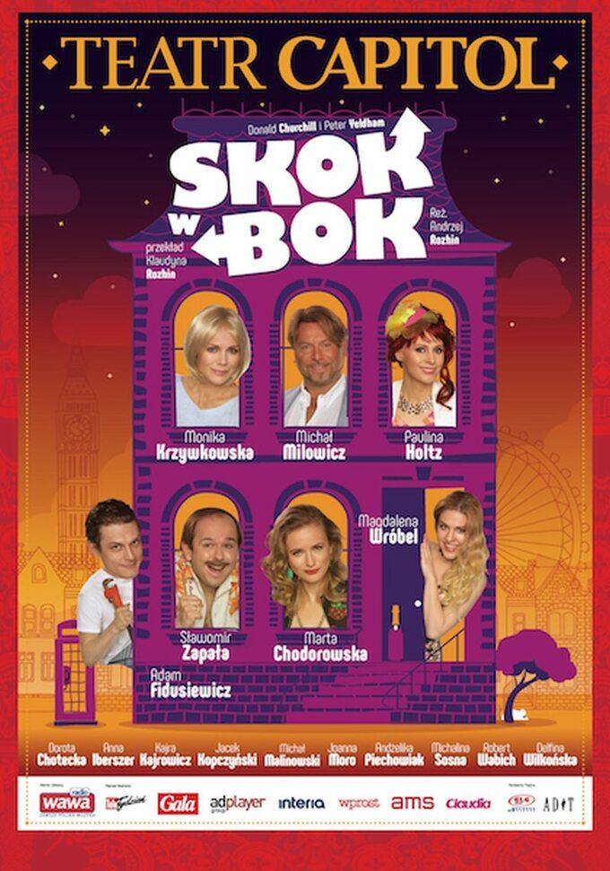 """Plakat """"Skok wbok"""""""