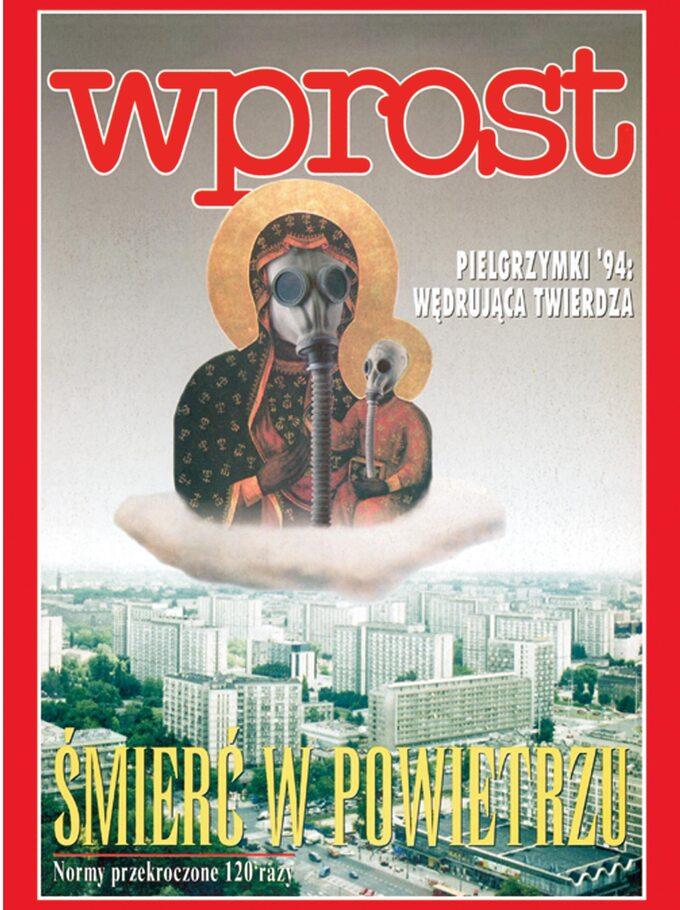 Kontrowersyjna okładka zMatką Boską Częstochowską z1994 roku