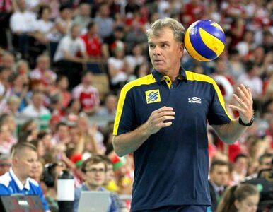 Liga Światowa. Trener Brazylii chwali atmosferę w Polsce