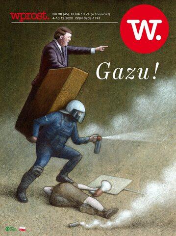 Okładka tygodnika Wprost nr 45/2020 (1961)