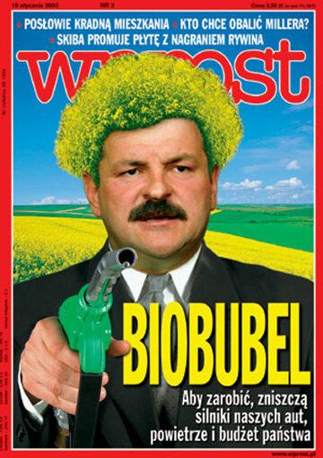 Okładka tygodnika Wprost nr 3/2003 (1051)
