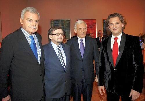 Człowiek Roku 2009 - Jerzy Buzek oraz Marek Król, Stanisław Janecki i Michał Lisiecki