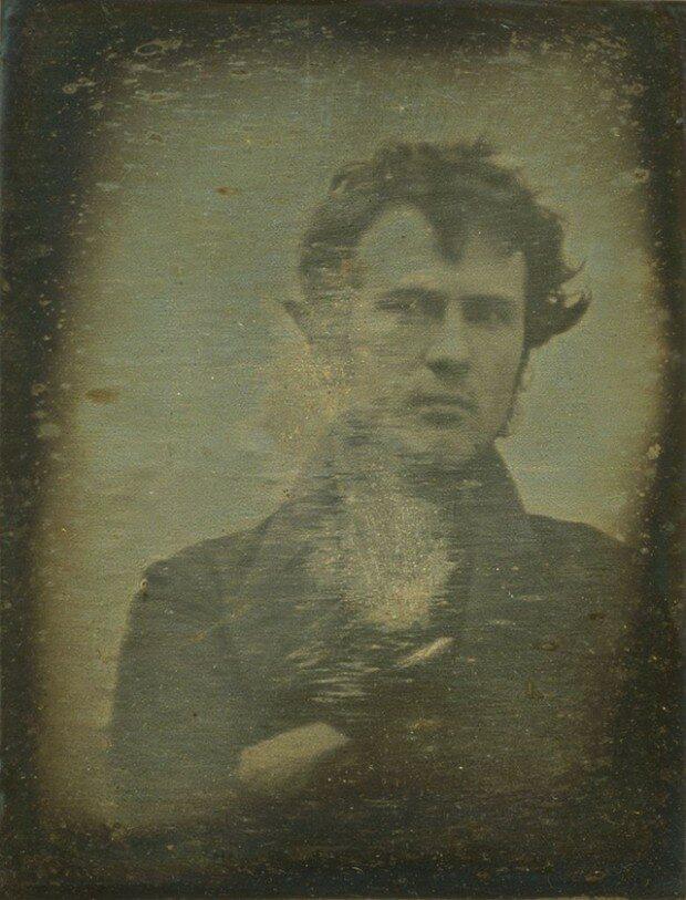 Najstarsze znane selfie (1839 r.), fot. epicdash.com
