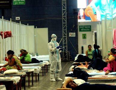 Indie przytłoczone koronawirusem. Prawie 39 tys. nowych zakażeń to...