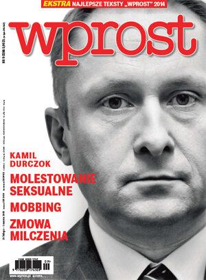 Okładka tygodnika Wprost nr 9/2015 (1668)