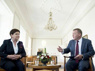 Beata Szydło i premier Danii podpisali porozumienie ws. Gazociągu...