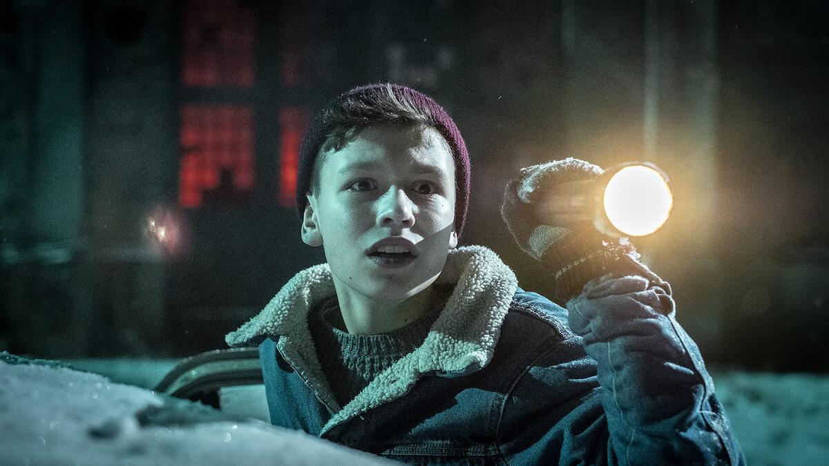 """Kadr z filmu """"Czarny Młyn"""""""